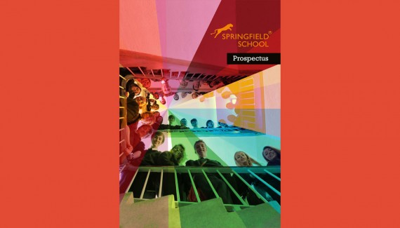 Springfield School Prospectus Front Cover 2014-2015 designed by Shadric Toop