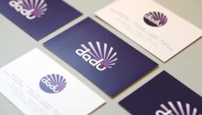 Dadu restaurant asian food business cards designed by Shadric Toop