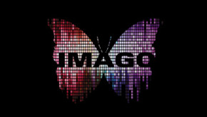 animated logo for Glyndebourne imago - community opera logo based on a digital butterfly