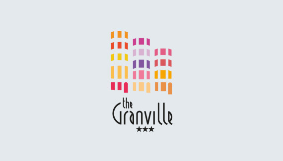 Granville Hotel Brighton logo designed by Toop Studio