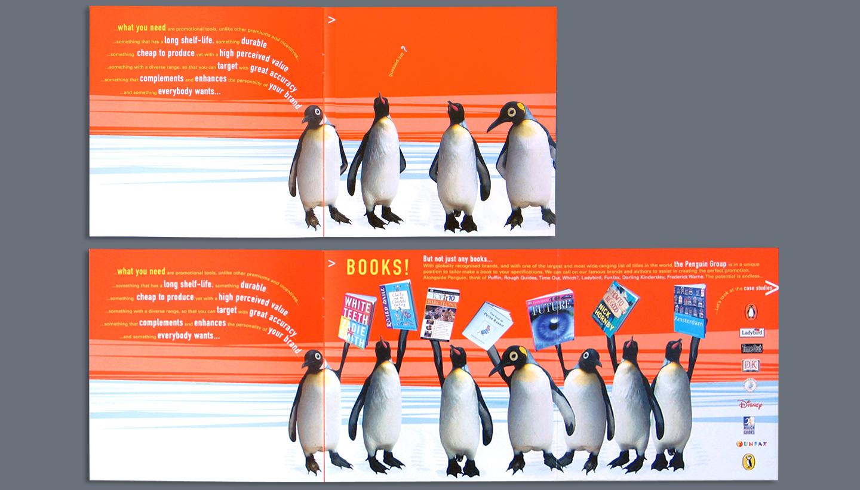 Penguin Books sales brochure spreads
