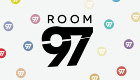 Room 97 creative hairdressing logo designed by Shadric Toop
