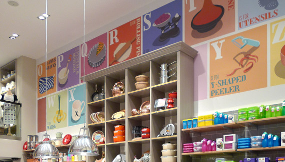 Steamer Trading Cookshop Bluewater A-Z Wall1