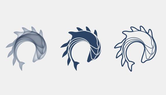 Varndean School logo variations