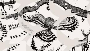 Varndean School wall design by Shadric Toop owl detail 2
