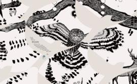 School Wall Art - Varndean Brighton - owl detail - Toop Studio