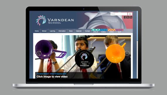 Varndean School website