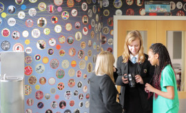 Wellington Academy Visual Arts wall