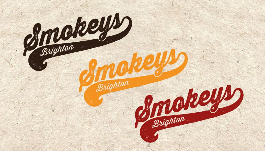 Restaurant Identity Smokeys Brighton Toop Studio