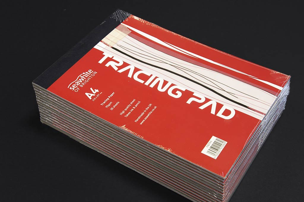 Seawhite tracing pad designed by Toop Studio