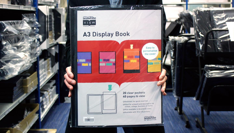 Seawhite viewbook packaging design toop studio
