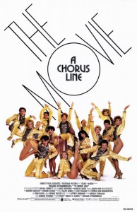 Chorus Line The Movie poster