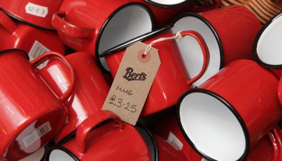 Bert's Homestore Packaging - Brown Swing Tag