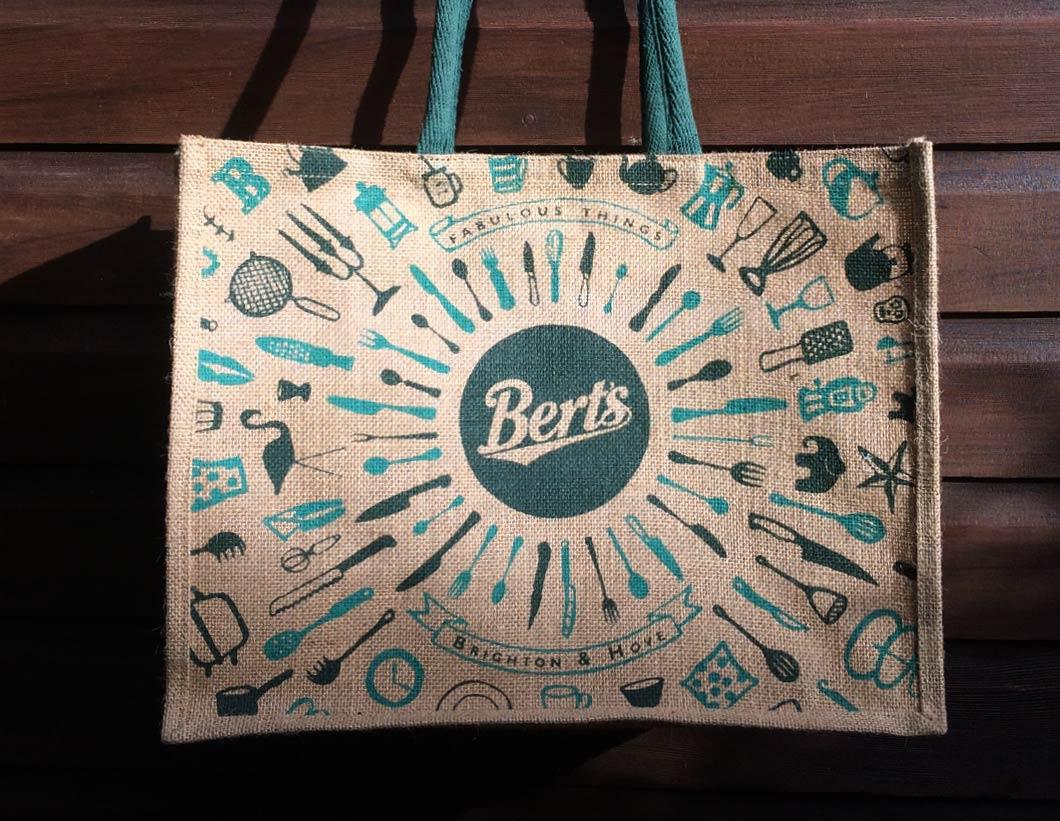 Berts Jute Shopping bag designed by Toop