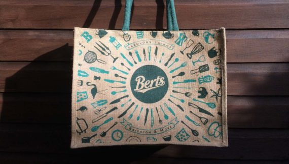 Berts Jute Shopping bag designed by Toop
