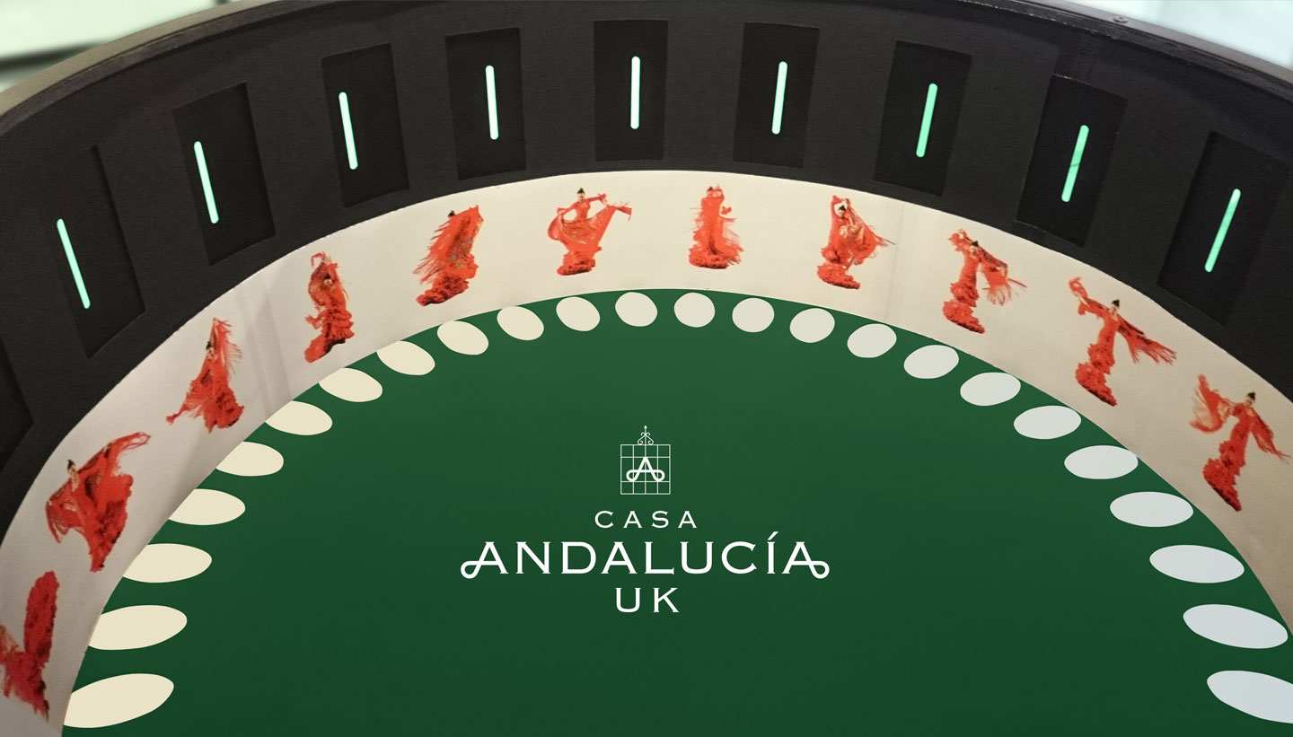 Casa Andalucia UK - Famenco Zoetrope designed by Shadric Toop