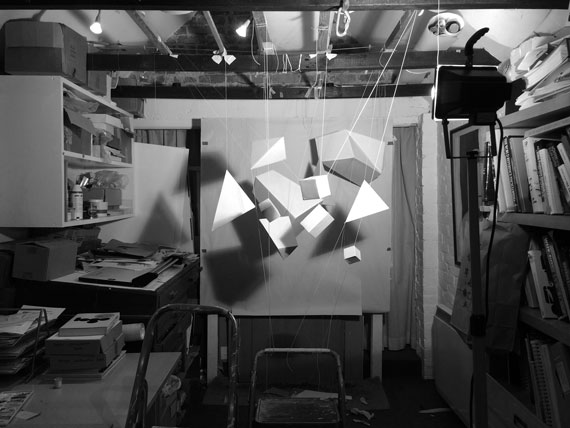 Set up for Patterns in Motion shoot - Video Ident - Toop Studio Brighton