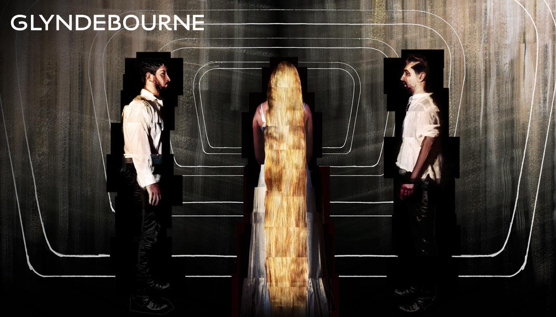 Shadric Toop glyndebourne illustration pelleas et melisande painted collage