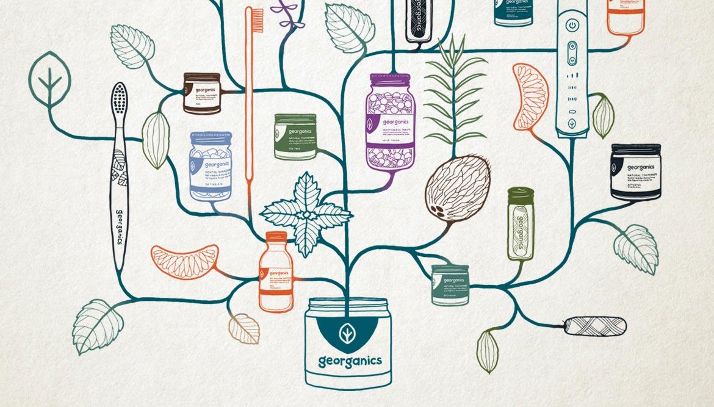 Shadric Toop georganics illustration slider