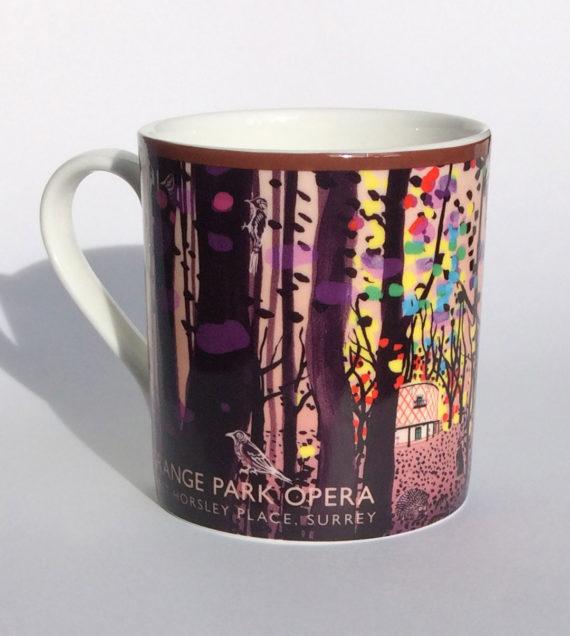 Mug Illustration - Grange Park Opera 2019 - Shadric Toop