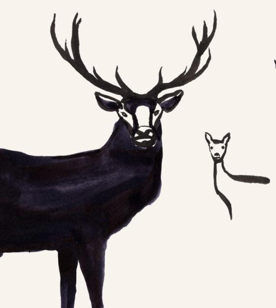 Illustration working drawings 1 - Grange Park Opera 2019 - Shadric Toop