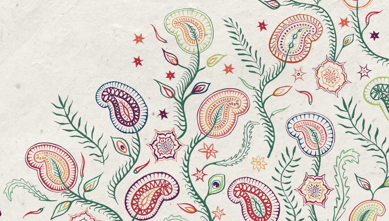 Branding Design - Trading Boundaries Indian pattern - Toop Studio